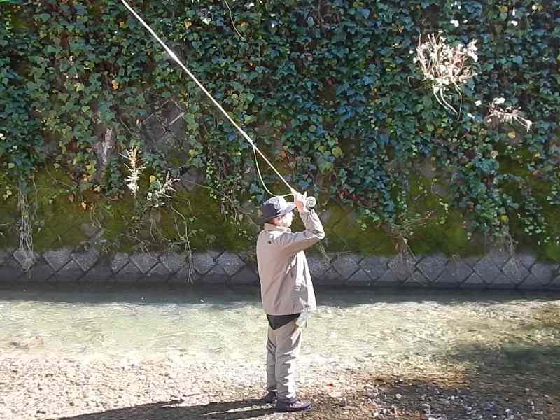 養沢毛鉤専用釣場