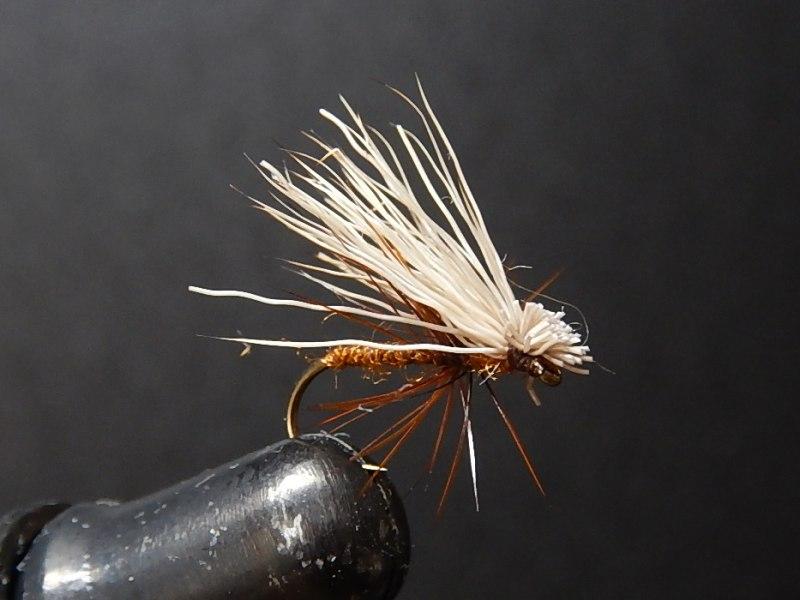 haruhei エルクヘア カディス X ナチュラルゴールド(釣れるフライ)